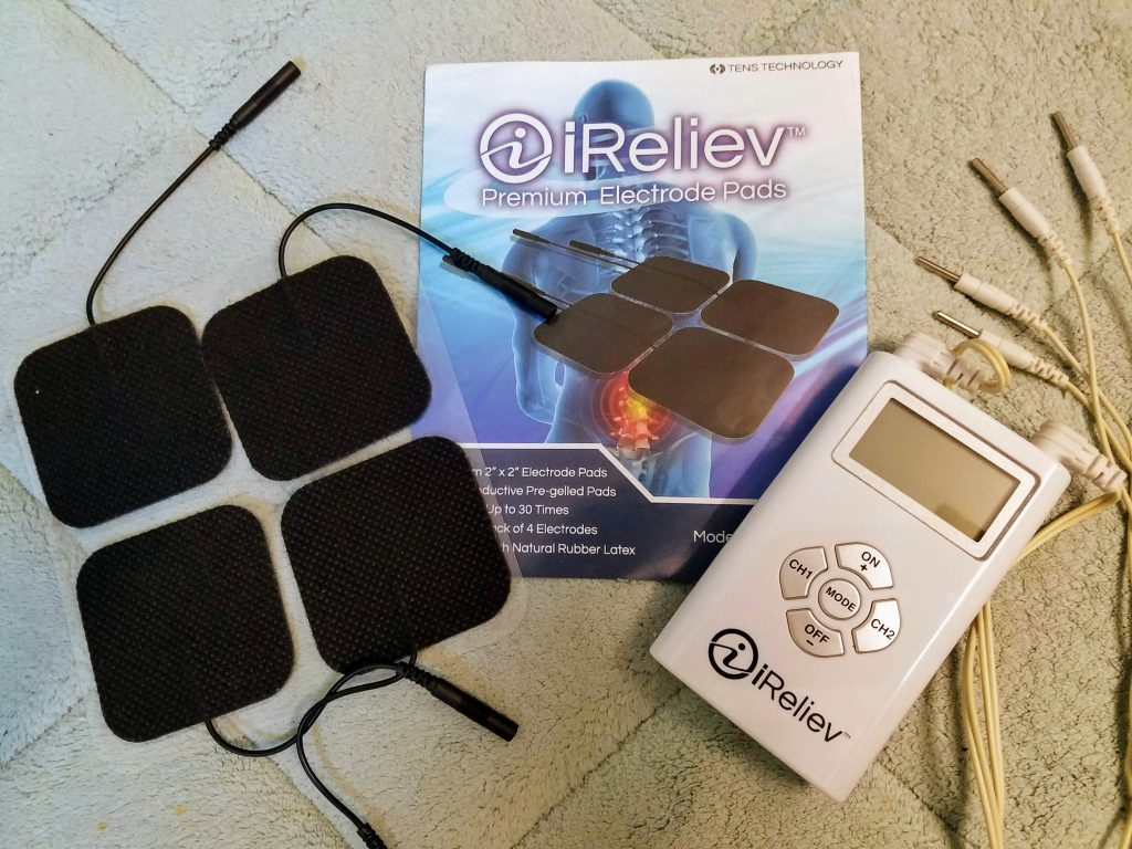 Tens unit to manage pain with chronic illness