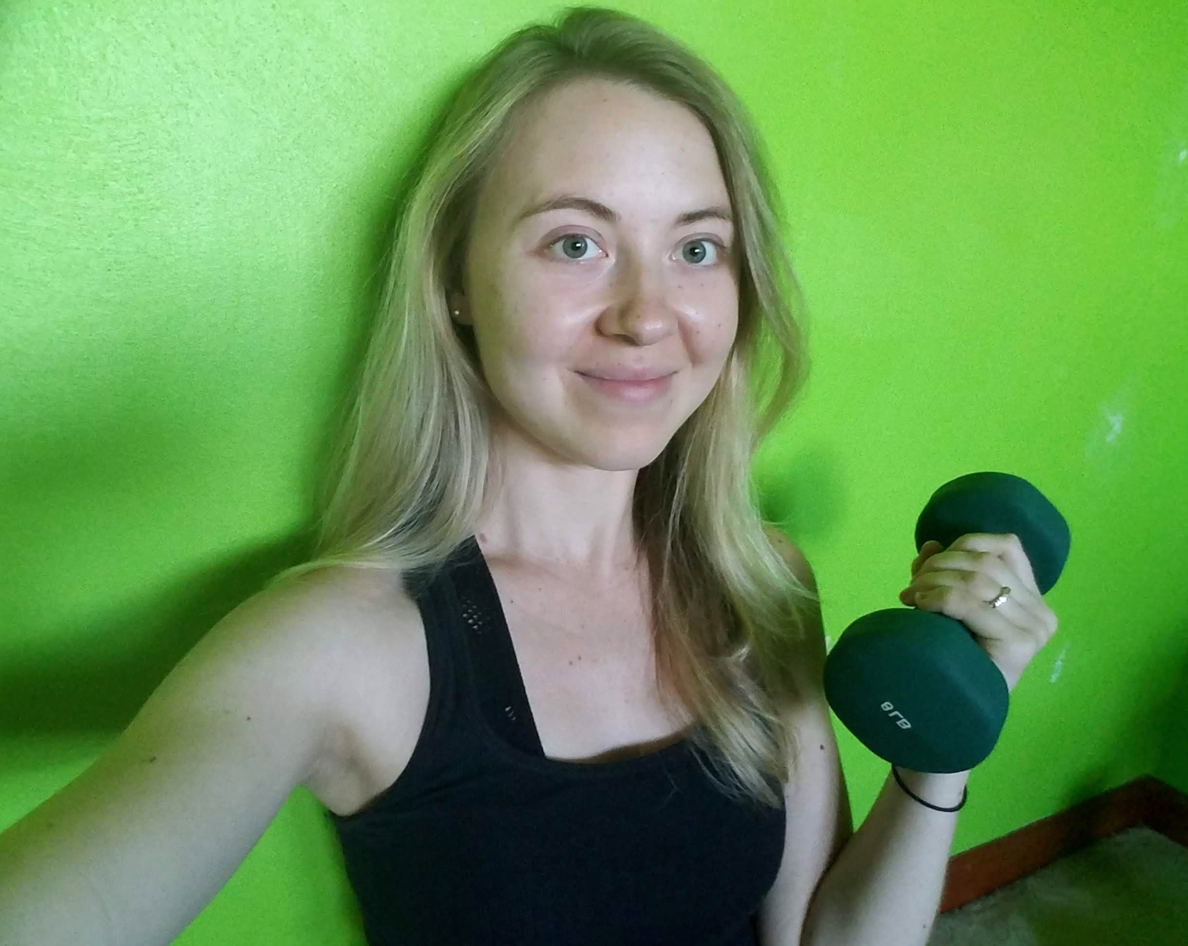 biceps, triceps, and shoulders upper body workout