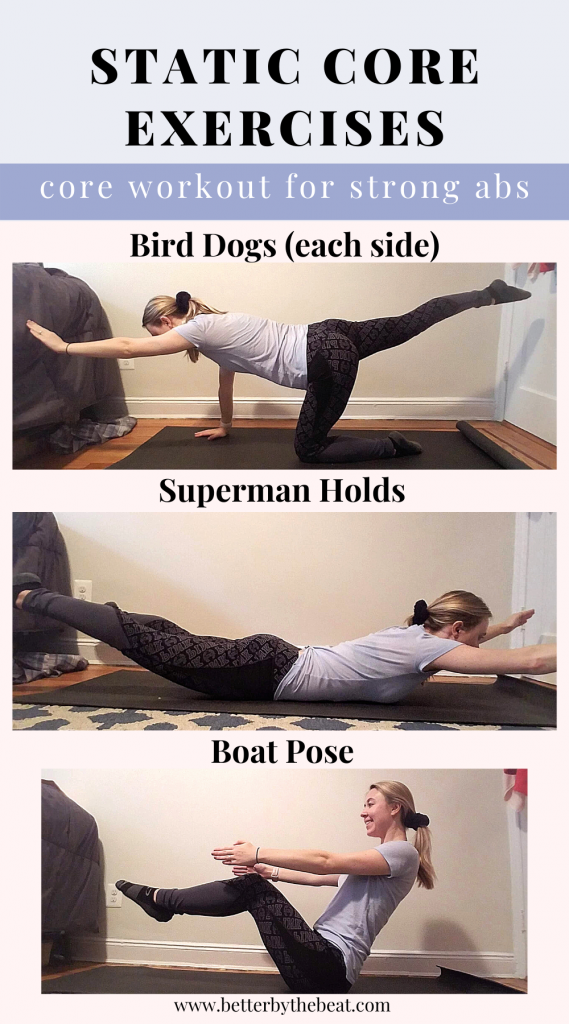 static core exercises for strong abs