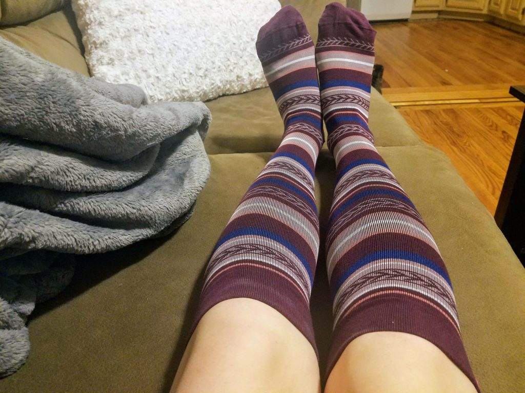 compression socks for POTS syndrome treatment