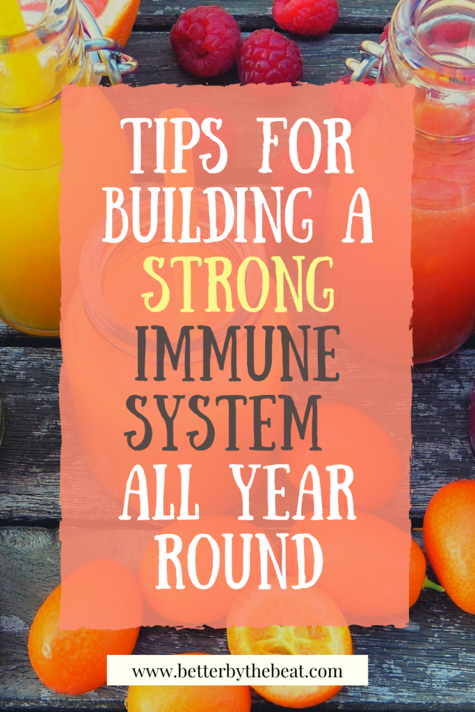 tips for building a strong immune system