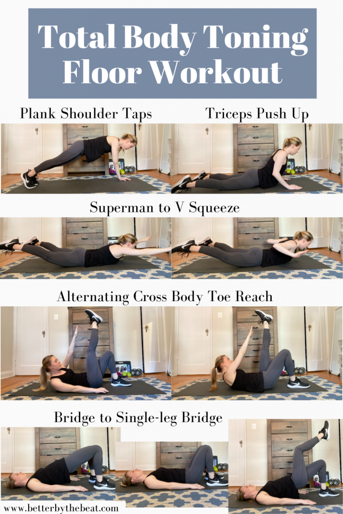 POTS exercise: total body floor workout