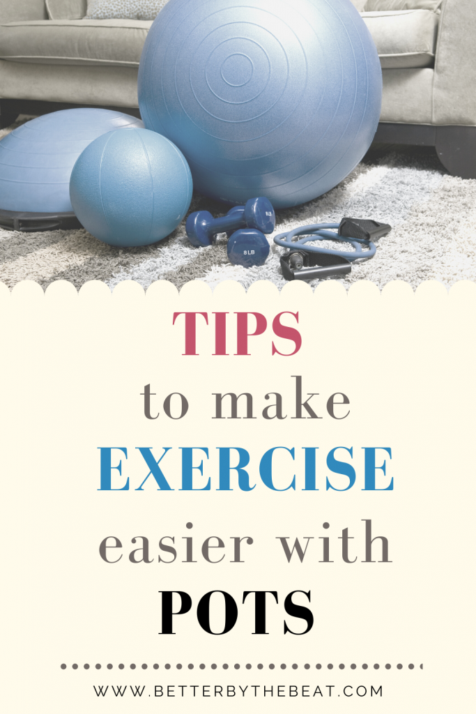 Tips for exercising with POTS